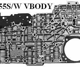 Ford 5r55w-5r55s Valve Body-2002&up-mountaineer-tested-clean-guaranteed-4.0-4.6