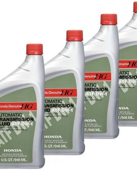 4 X Quarts Genuine Honda Atf Dw-1 Automatic Transmission Fluid For Honda-sale !!