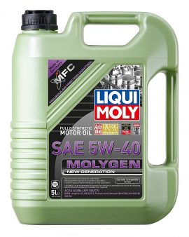 1 X Liqui Moly 20232 Molygen New Generation 5w40 Motor Oil Engine Oil 5 L – Wow!