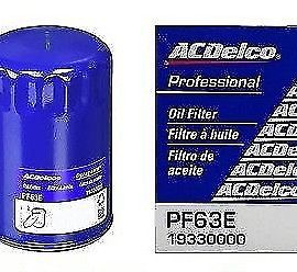 12 X Ac Delco Engine Oil Filter Pro Pf63e Durapack Pf63f Genuine Oem On Sale Now
