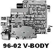 4l60e/4l65e Valve Body&plate &solenoids Rebuilt Oem! Chevy Jimmy 1996-2002-pwm