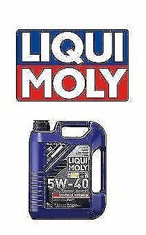 1x Liqui Moly 5 Liters 5w-40 Premium Synthoil Full Synthetic Motor Oil Germany