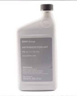 1 X BMW Coolant / BLUE Antifreeze GENUINE 1600 1602 2002 2500 2800 3.0CS 1 Liter