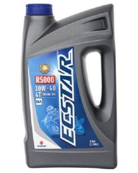 1 X Gallon Suzuki Ecstar R5000 Mineral Motorcycle Engine Oil 10w-40