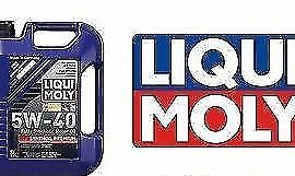 Liqui Moly 5-liter Synthoil Full Synthetic  Motor Oil 5w-40 Genuine Oem! Germany