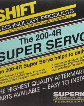 K014 Superior 2004r Super Servo Kit Intermediate 200r4 Billet Alloy Piston- Wow!