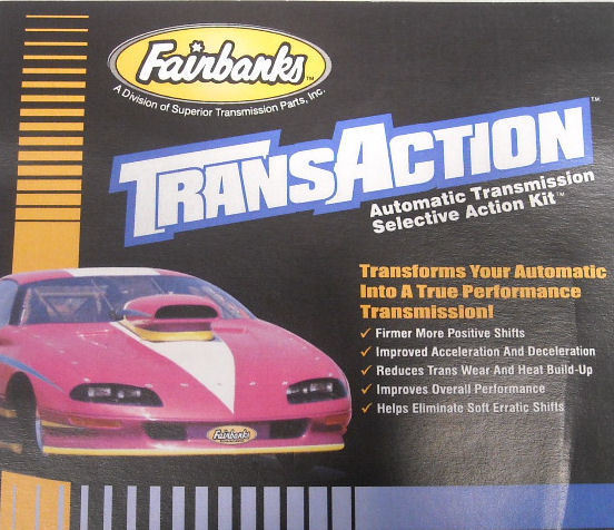 Fairbanks 700R4 Transaction Kit