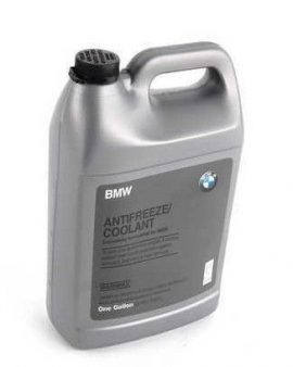 1 Gallon Genuine Bmw Mini Coolant Antifreeze Blue Color 100% Concentrated Style