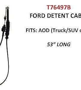 Ford Detent Cable, Aod (truck & Suv Only)