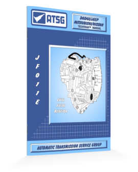 Jatco Jf011e Atsg Transmission Manual -handbook-repair Guide Book-best Price-wow