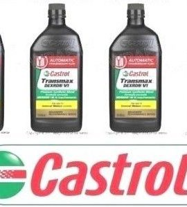 4 X Quarts Castrol Automatic Transmission Oil Fluid Atf Dexron Vi For Bmw & Saab