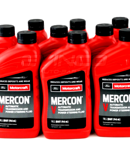 12 X Motorcraft Mercon V Transmission Fluid Xt-5-qmc Ford Lincoln Genuine Oem
