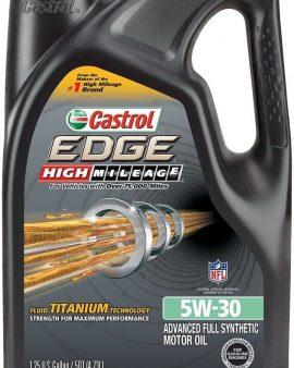 1 X  5 Quart Castrol  EDGE 5W-30 Full Synthetic Motor Oil 03084 ON SALE NOW