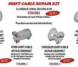 Shift Cable Repair Kit For Chrysler, Dodge, Jeep, Ford & Gm