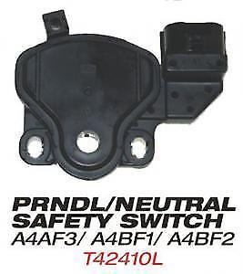 Prndl / Neutral Safety Switch Fits: A4af3, A4bf1 & A4bf2 Oe# 42700-3b000