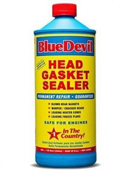 Blue Devil Permanent Sealer Head Gasket Sealant 32 Oz Bottle #-1 In Our Country!