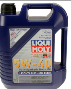 1x Liqui Moly Leichtlauf High Tech 5w40 Synthetic Motor Oil Bmw Mercedes 2332
