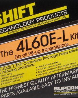 K4l60e-l Superior 4l60e Transmission Shift Correction Kit 1870 Code Buster!98-05