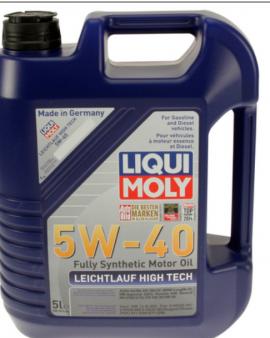 1x Liqui Moly Leichtlauf High Tech 5w40 Synthetic Motor Oil Bmw Mercedes 2332