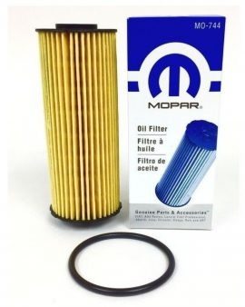 1 X Oil Filter Cartridge & Gasket Chrysler Jeep Dodge Ram 3.6l Mopar# 68079744ad