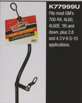 Filler Tube & Dipstick Gm 700-r4 & 4l60e Gm 700-r4, 4l60, 4l60e 1996 And Up