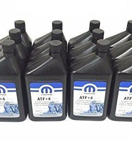 12 X Quarts Jeep Dodge Chrysler Atf+4 Automatic Transmission Fluid Case Mopar