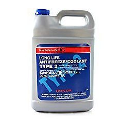 1x Genuine Honda Acura Long Life Antifreeze-engine Coolant Blue Color Ol9999011