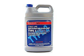 1X Genuine Honda Acura Long Life Antifreeze-Engine Coolant Blue Color on