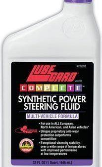 Lubegard Complete Synthetic Power Steering Fluid 32 Fl. Oz.23232 The Best Stuff!