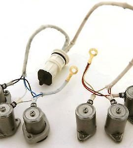 Fits: A4af3, A4bf2 ('96-'11) Six Solenoid Valve Body Super Master Solenoid Kit