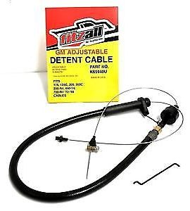 Adjustable Multi-fit Detent Cable For 700r4 -fitzall-gm- Adjustable-brand New !!
