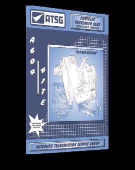 Chrysler A604 41te Atsg Techem Transmission Manual-handbook-repair Guide Book