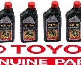 6x Genuine  Ws Atf World Standard Automatic Transmission Fluid Oil For Toyota !