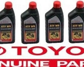 6x Genuine  Ws Atf World Standard Automatic Transmission Fluid Oil For Toyota !
