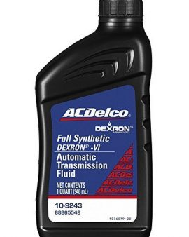 Dextron Acdelco Vi Full Synthetic Automatic Transmission Fluid 1 Quart 10-9243