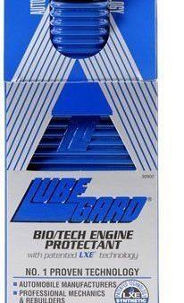 Lubegard Blue Bio/tech Engine Oil Protectant Lxe Technology 10 Oz. Gas Or Diesel