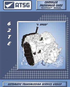 Chrysler 62te Atsg Manual Repair Rebuild Book Transmission Guide Techtran