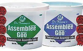 2 X Transmission Assembly Lube Dr Tranny Assemblee Goo Blue & Green Goo Lubegard
