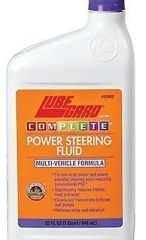 Lubegard Power Steering Fluid – 32 Oz. 51-17 No More Whine And Hum Noise! 20902