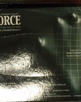 100X Black Medical Examination Nitrile Powder-Free Textured Gloves Size: S- CASE