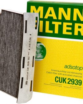 Cabin Mann-filter Cuk 2939 Filter For Select Audi & Volkswagen Models Genuine Oe