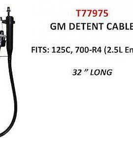 Gm Detent Cable (700), 32″ Clip Type Fits: 125c & 700-r4 (2.5l Engine)