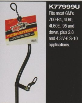 Filler Tube & Dipstick 4l60e Gm 700-r4, 4l60, 4l60e 1996 And Up