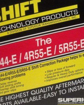 Superior K4R/5R55E Transmission Valve Body Correction Shift Kit Ranger Explorer