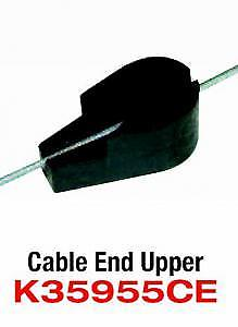 FITS: GM (76-up) and FORD TAURUS (86-up) CLIP ON FITZALL DETENT CABLE END IN SEC