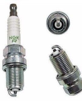 1 X Audi Saab Toyota Suzuki Ngk V Power Resistor Spark Plug Bkr6e 6962 Gapped