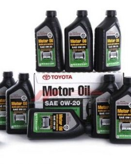 12 X Toyota Lexus Genuine 0w20 Synthetic Motor Oil  00279-0wqte – Oem- On Sale !