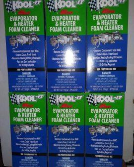 6x Lubegard 96030 Kool-it Evaporator And Heater Foam Cleaner  Fresh Clean Air !!