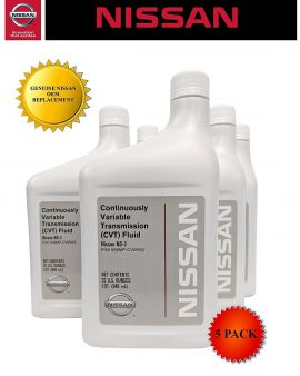 5 X Quarts Genuine Nissan Oem Cvt-2 Transmission Fluid 999mp-ns200p On Sale Now