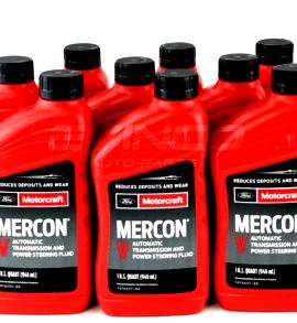Motorcraft Mercon V Transmission Fluid Xt-5-qmc 12 Quarts Ford Lincoln Vehicles